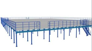 Prefabricated Steel Structural Platform for Industry Steel Workshop Steel Structure pictures & photos