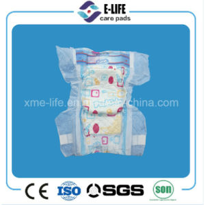 Super Absorption Pamper Baby Diaper with Magic Tape and Elastic Waist pictures & photos