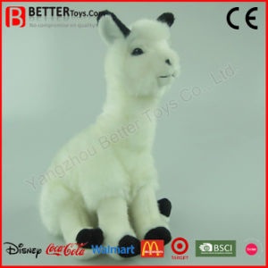 Realistic Soft Toy Plush Alpaca Stuffed Animal Toy for Kids pictures & photos