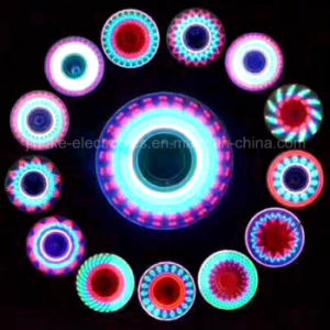 2017 Newest Design LED Flash Message Metal Hand Spinner (6000E) pictures & photos