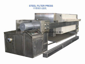 Flying Stainless Steel Filter Press pictures & photos