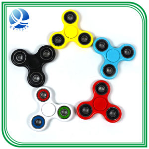 New Colorful Creative Metal Two-Spinner Fidget Toy Metal EDC Hand Spinner for Autism Rotation Time Long Anti Stress Toys pictures & photos