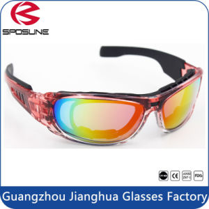 Ce En166 Black Military Tactical Goggles UV400 Anti Fog Shatterproof Glasses pictures & photos