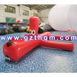 Inflatable Water Floating Toy Red and Orange Water Dog/Inflatable Sea Water Park Toys pictures & photos