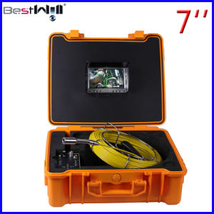 Waterproof Pipe Inspection Camera with 7′′ Digital Screen 7G pictures & photos