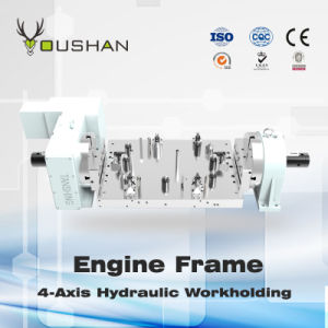 Engine Frame 4-Axis Hydraulic Fixture