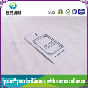 Hollow out Embossing Paper Printing Hang Tag pictures & photos