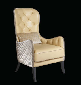 High Back Upholstered Leather Leisure Chair Set (LCS-022) pictures & photos