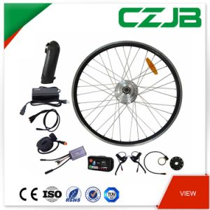 36V 250W Ebike Geared Brushless Hub Front Motor Conversion Kit pictures & photos