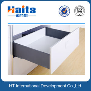 Elegant Metal Box System with Soft Close Concealed Drawer Slides, 167mm Height pictures & photos
