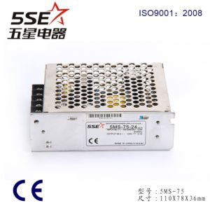 SMPS Power Supply 5ms-75-24 Single Output Power Supply pictures & photos