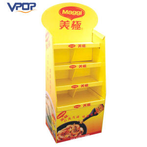 Soybean Sauce Promotional Display Cardboard Pallet Display