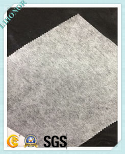 Soft Thermal-Bonded Non Woven Pet Fabric pictures & photos