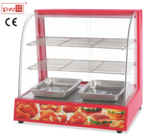 Electric Glass Food Warmer Display Showcase for Sale pictures & photos