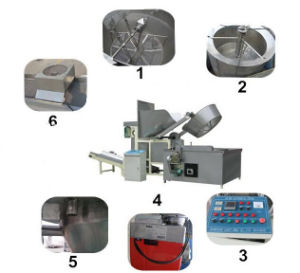 Automatic Food Batch Fryer, Food Frying Machine pictures & photos