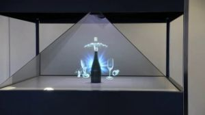 Virtual Image Holo Pyramid Showcase, Advertising Equipment & Exhibition pictures & photos