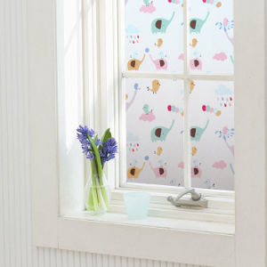 Static Cling Window Film Graphic Printed-P128 pictures & photos