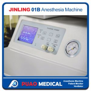 Cheap Anesthesia Workstation Anesthesia Machine with Ventilator pictures & photos