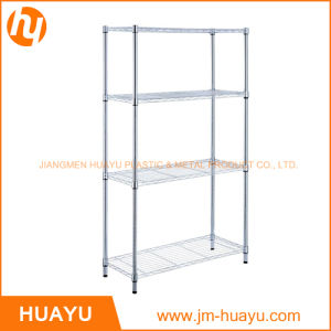 Metal Wire Display Shelf Without Wheels Supermarket Shelf Household Shelf pictures & photos