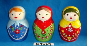 Russian Doll with Ceramic Coin Bank pictures & photos