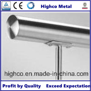 Stainless Steel Railing / Balustrade with Handrail End Cap pictures & photos