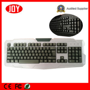 Computer Accessories Wired Standard PC Keyboard Desktop Key Board pictures & photos