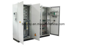 CNC vertical High-frequency Induction Heat Treatment Quenching Machine (Inductor moving) pictures & photos