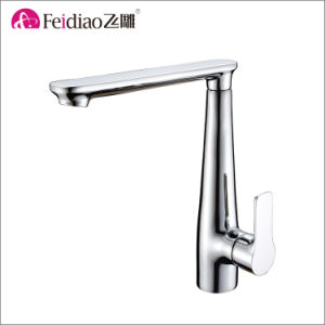 Elegant Design Single Handle Kitchen Sink Mixer Faucet