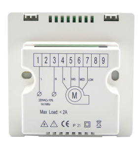 Remote Control Indoor Air Quality CO2 Monitor/Detector/Controller Ventilator Speed Output pictures & photos