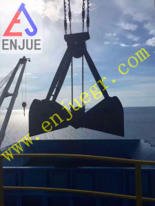 20t Four Ropes Machinery Calmshell Grab Mechanical Grab for Grain pictures & photos