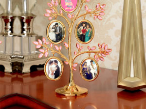 Mirror Shaped Ceramic Photo Frames pictures & photos