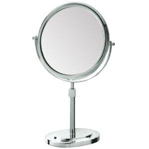 Hotel Desktop Height Adjustable Cosmetic Metal Magnifying Mirror pictures & photos