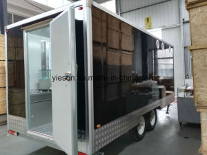 Sliding Glass Windows Mobile Kebab Van pictures & photos