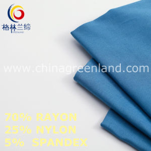 Rayon Spandex Nylon Fabric to Woman Garments Industry (GLLML463) pictures & photos