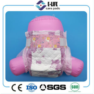 OEM Disposable Elastic Waist Baby Diaper with Magic Tape pictures & photos