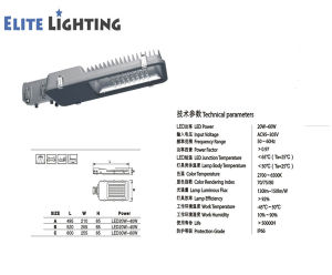 Wholesale Ce Approved IP66 LED Street Light Fixture pictures & photos