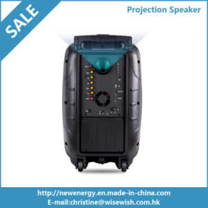 12 Inches Active Outdoor Multimedia Speaker with LED Projector pictures & photos