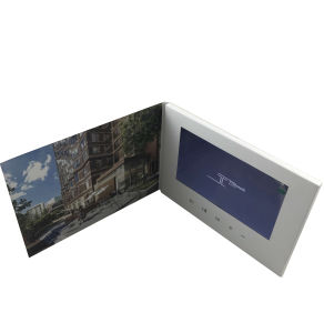 7inch Custom LCD Screen Video Greeting Cards From China pictures & photos