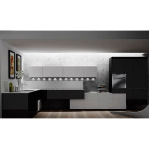 High End Black and White Series kitchen furniture kitchen Cupboards pictures & photos