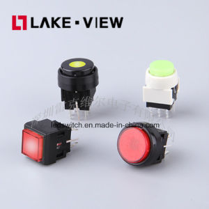 Illuminated Pushbutton Switches with Locked and Un-Locked Type pictures & photos
