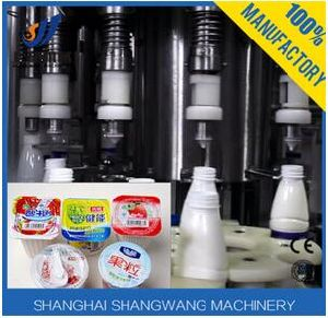 Cup Yoghurt Filling Machine/Cup Yogurt Production Line pictures & photos