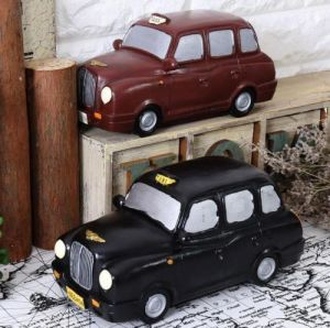 Home Bar Restaurant Decor Ornament Figurine Statue Britain London Taxi Car Resin pictures & photos