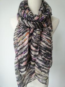 Muitic Color Ployester Scarf for Women, Fashion Shawls, Ladies Scarves pictures & photos