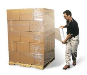 PE Plastic Film for Packing Pallets pictures & photos