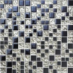 Slivery Glass Mosaic