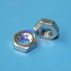 DIN439-2-Chamfered Hexagon Thin Nuts