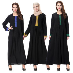 Bimba Women′s Full-Sleeve Muslim Islamic Abayas (A193) pictures & photos