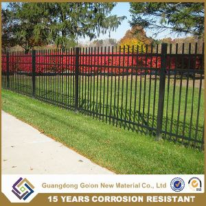 Powder Coated Ornamental Wrought Iron Small Garden Fence pictures & photos