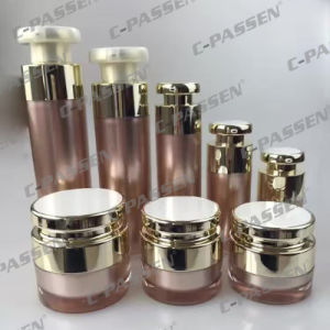 New Arrival Cosmetic Packaging Acrylic Cream Jar Lotion Bottle (PPC-CPS-069) pictures & photos