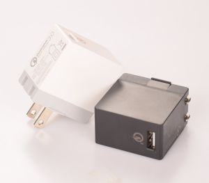 Us Plug 18W Quick USB Charger for iPhone 6s pictures & photos